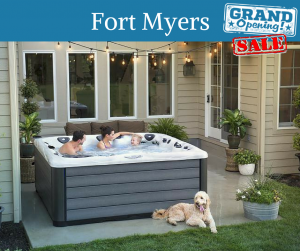 Our Fort Myers hot tub showroom