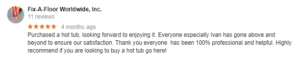 third google review