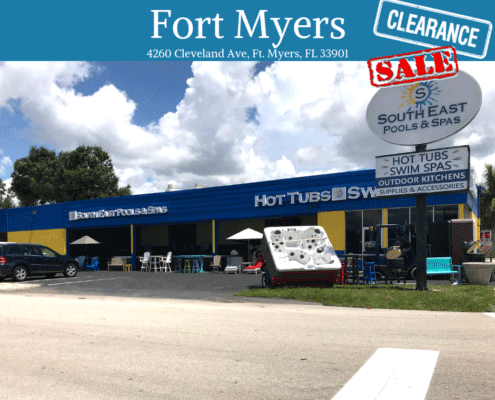 Fort Myers Hot Tub Showroom