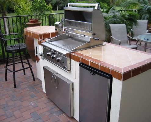 Counter Tops For Your Outdoor Kitchen   Marble, Granite ...